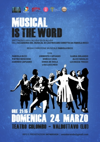A musical play advertising